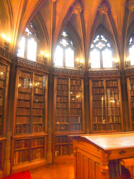 Manchester JR Library Interior