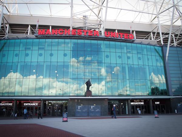 Manchester United Entrance