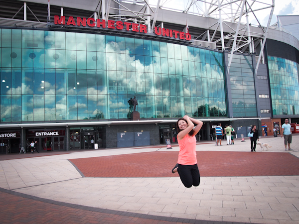 Jumpshot at Manchester United