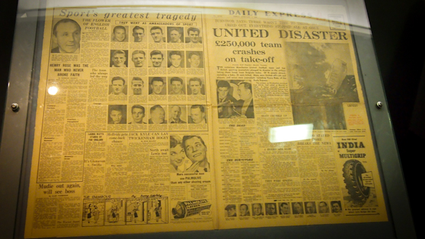 Munich Air Disaster Newspaper Article