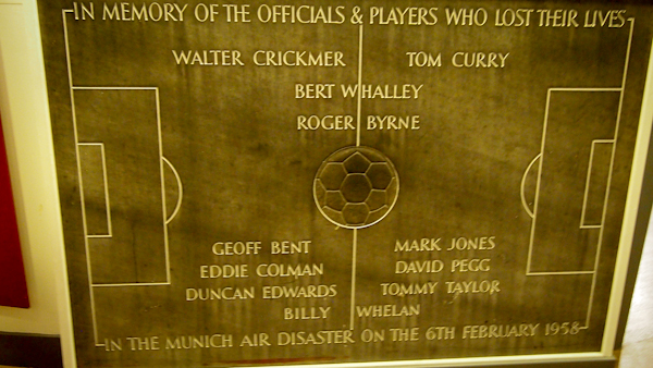 Munich Air Disaster - In Memory