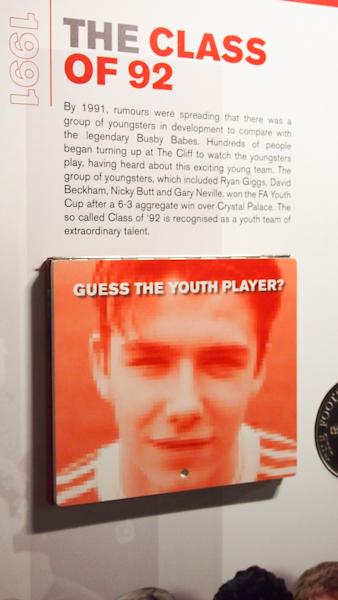 Young David Beckam