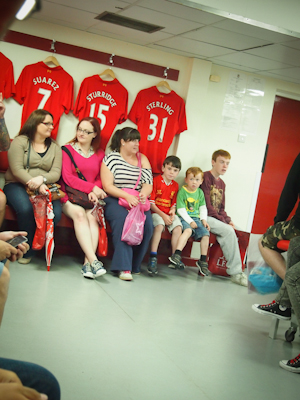 LFC Players' Room