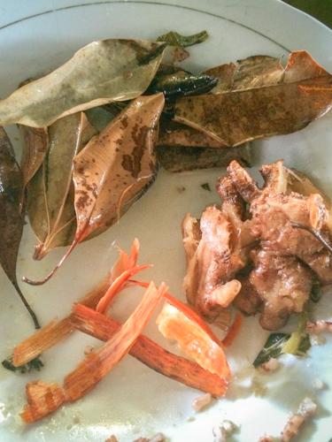 Ingredients in Wedang uwuh
