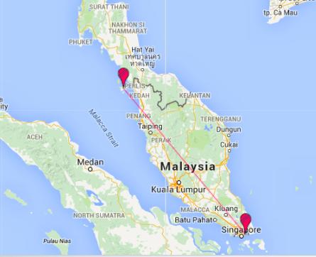 Traveldistancemap-Langkawi