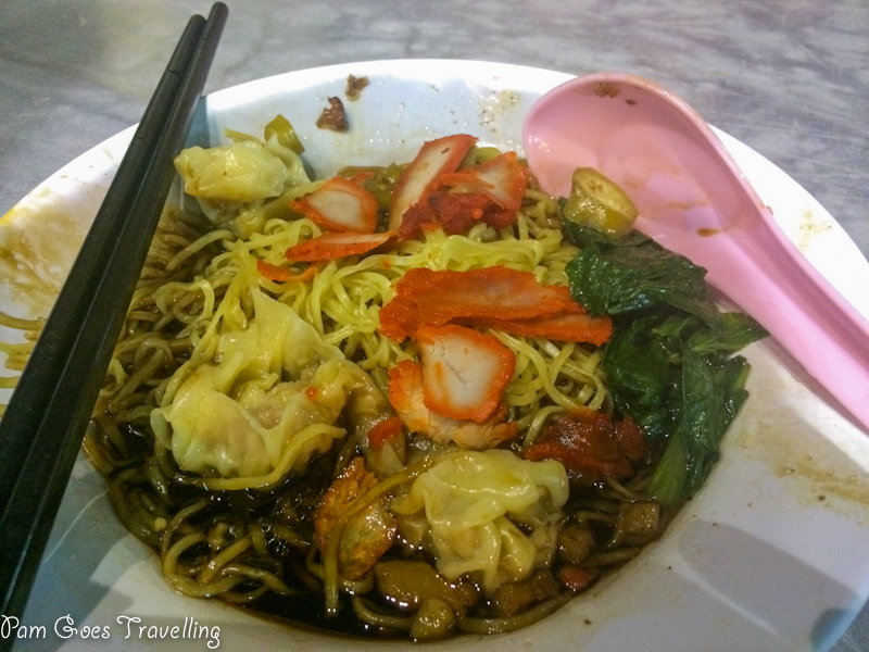 The most delicious wan tan noodles I ever tasted!