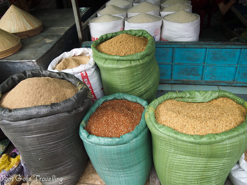 Different type of rice
