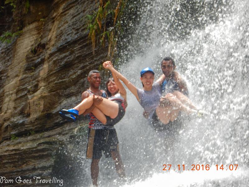 Water rafting in Fiji