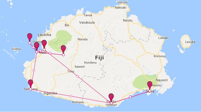 Around Fiji