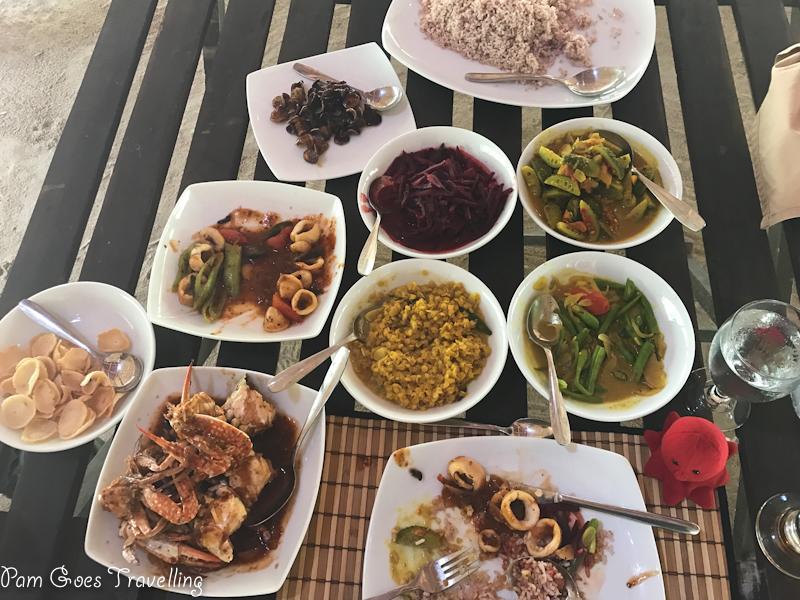 Lunch at Yala Safari Camping