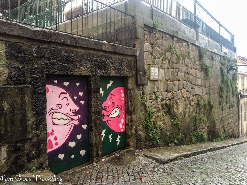 Exploring street art in Porto