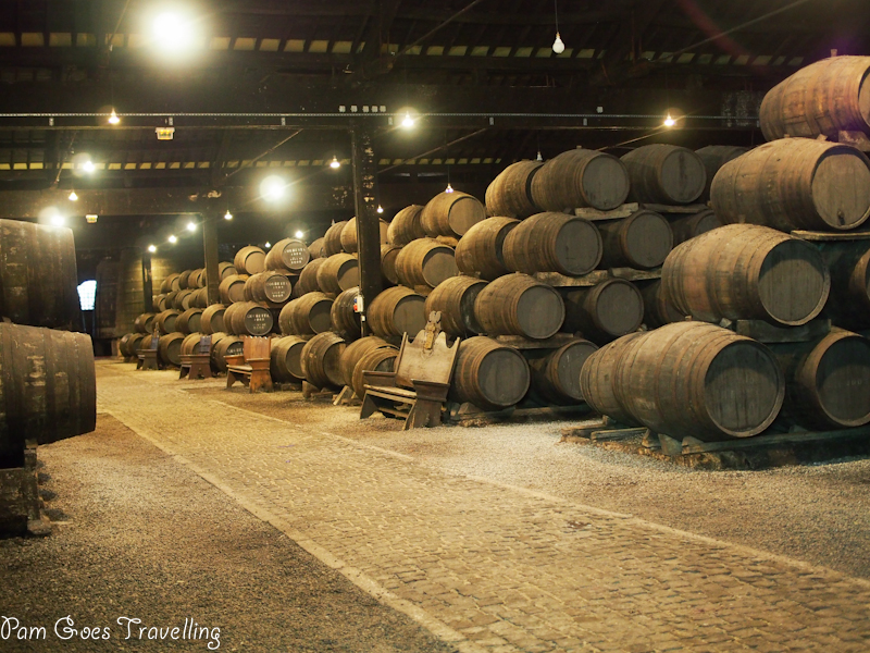 Wine cellar, making Port Wine