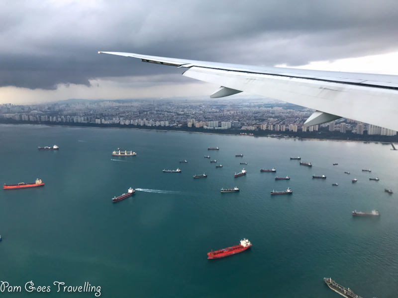 Returning home to Singapore
