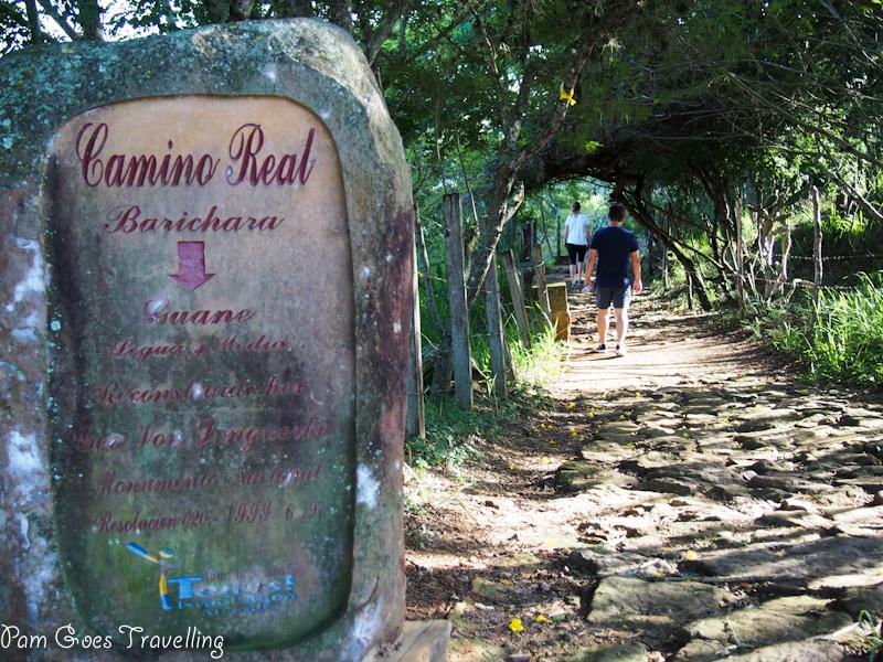 Trekking from Barichara to Guane