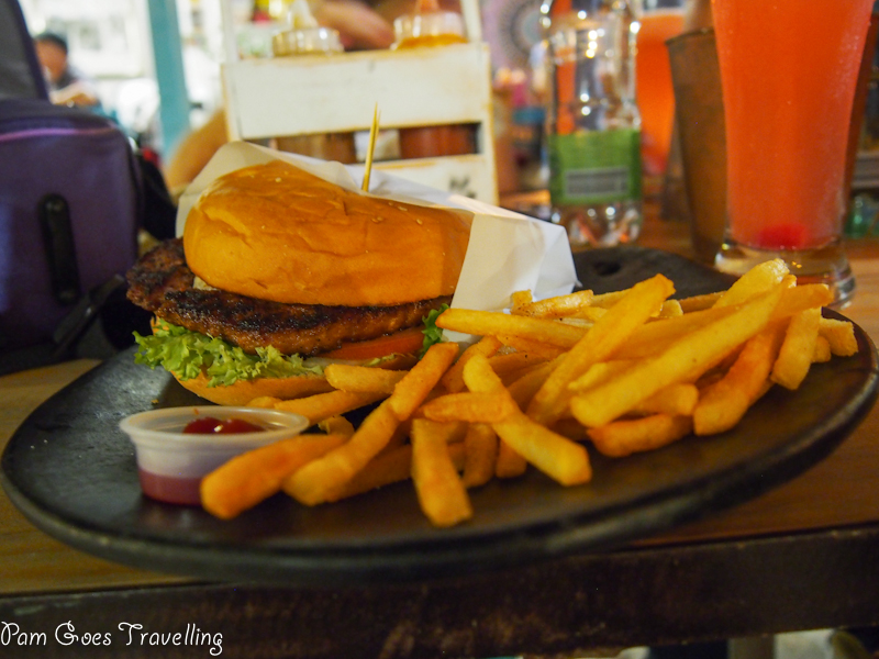 Burger in Filomena