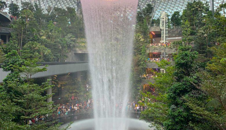 Changi Jewel Waterfall