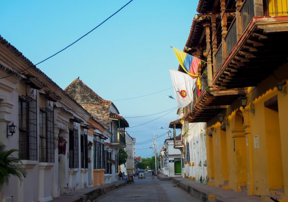 Mompox, the colonial architectural town