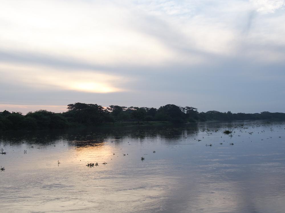 Sunrise in Mompox, Colombia