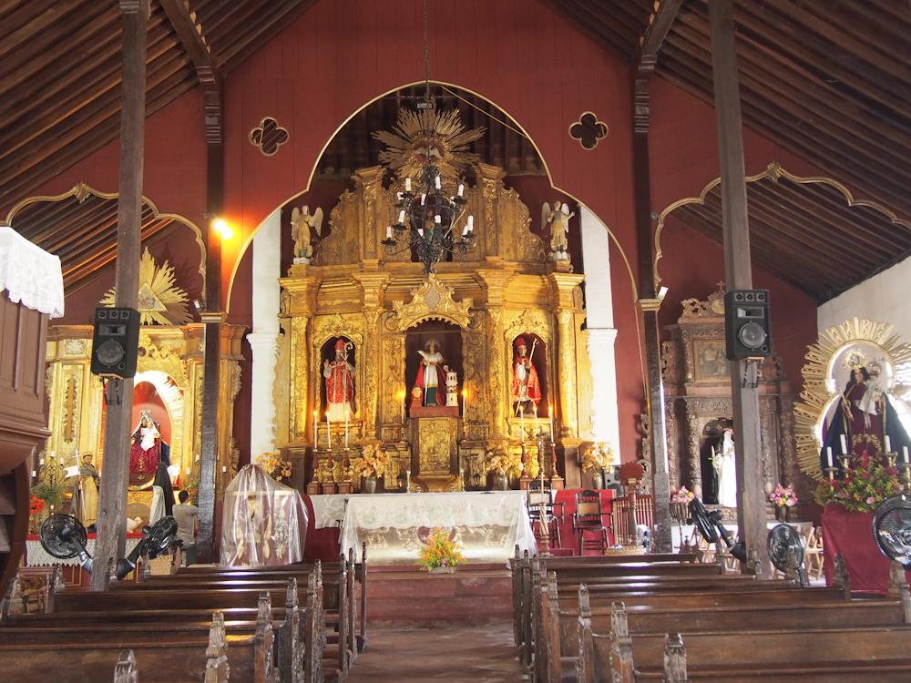 Interior of Iglesia Santa Barbara