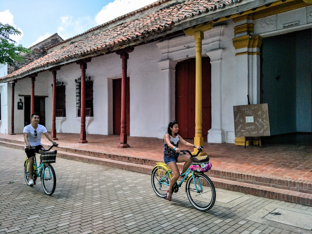 Cycling in Mompox