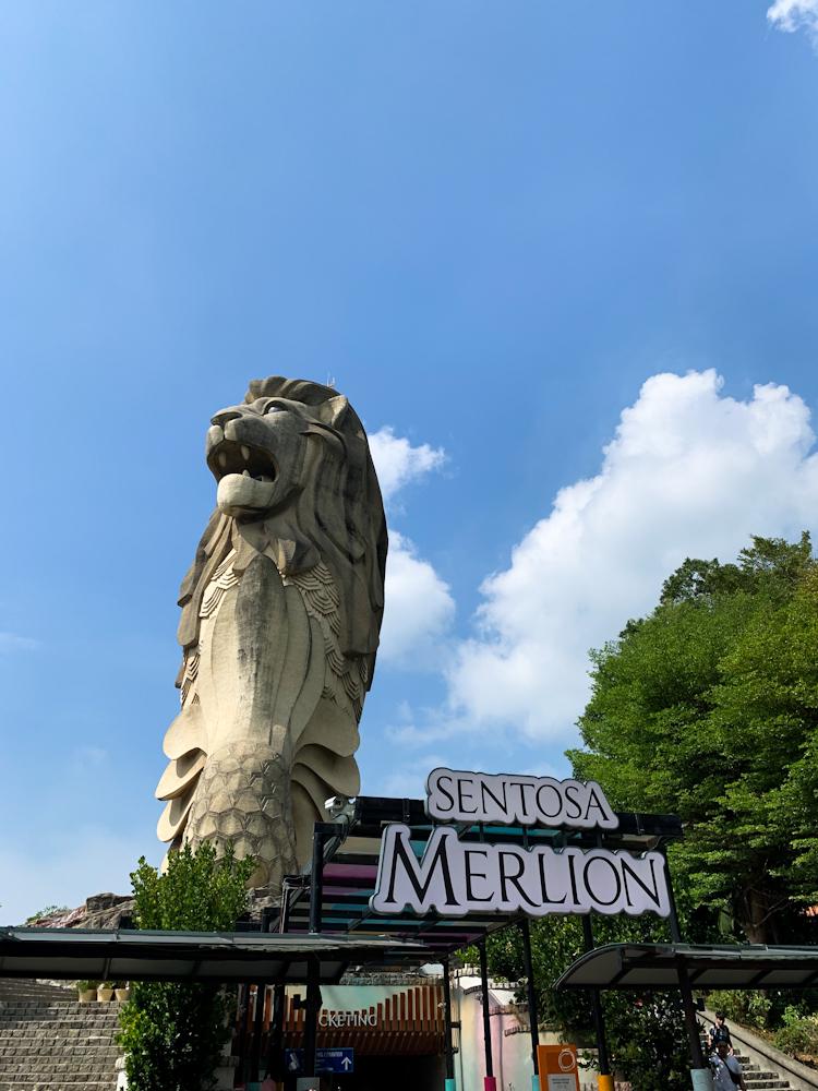 Merlion in Sentosa