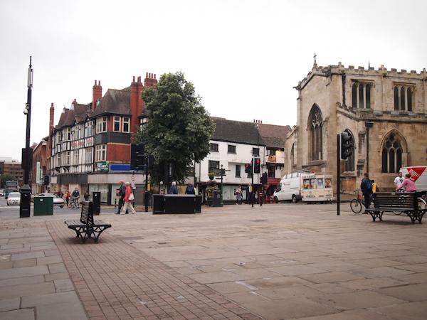 York Minster, impressive historical landmark in York